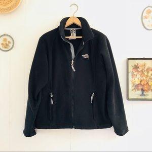 The North Face • Black Fleece Zip Up Jacket